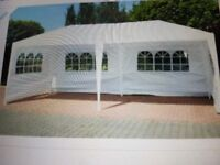 Fox Hunter waterproof white Gazebo 3m x6m