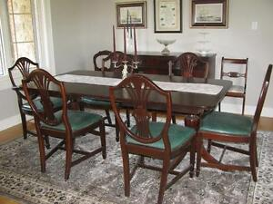 Circa 1910 Cherry Dining Room Set Dining Tables And Sets St Catharines
