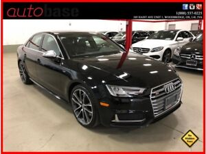 2018 Audi S4 PROGRESSIV CLEAN CARPROOF CERTIFIED