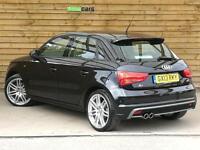 Audi A1 2.0 TDI 140 S Line 5dr SAT NAV FULL AUDI SERVICE HISTORY (brilliant black) 2013