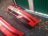Seat Leon Front and back bumper