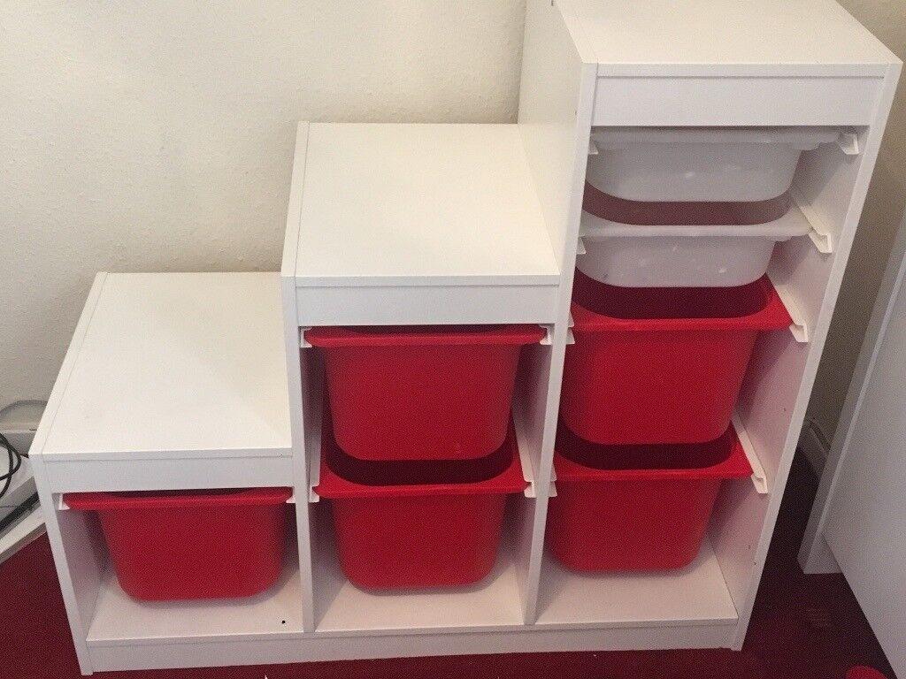 trofast storage unit in splott cardiff gumtree. Black Bedroom Furniture Sets. Home Design Ideas