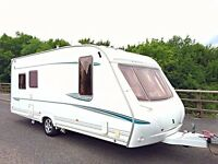Abbey GTS 5 Berth Caravan With Motor Mover - Optional Fixed Bed