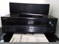 Onkyo av receiver amp & Pioneer Subwoofer HDMI