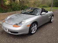 52 reg Porsche Boxter 2.7 Auto, only 84k, fsh, absolute bargain