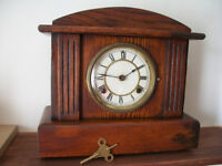 Antique clock made in USA by Waterbury