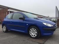 2004 PEUGEOT 206 1.1 S **MOT UNTIL DECEMBER 22ND-NO ADVISORIES** IDEAL 1ST CAR