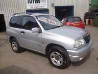 Suzuki GRAND VITARA 16v Sport,3 door 4x4,full MOT,runs and drives very nicely,clean tidy 4x4,76k