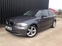 2008 (58 BMW 1 Series 1.6 116i ES 5dr High Spec, Service History, 2Keys, Full MOT, Finance Available