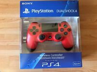 Dualshock 4 Magma Red Controller (perfect condition, boxed)