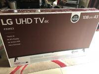 43in LG 4K TV 43UK6300PLB rrp £549 BRAND NEW/SEALED