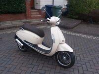 50cc Scooter - Junak Vintage 50