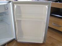 Camping mini fridge 68 litres capacity with additional freezer box