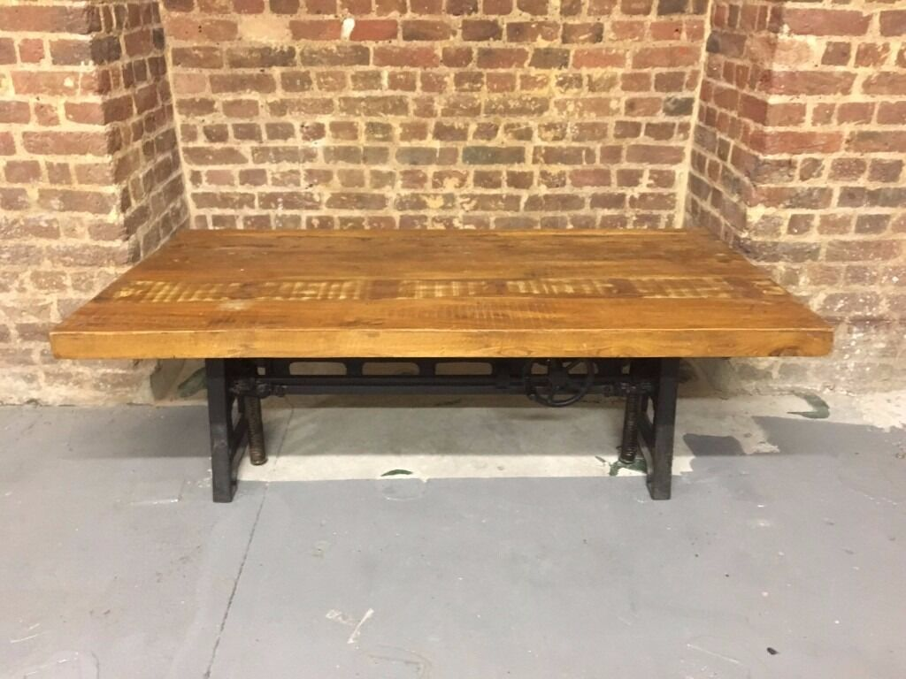 Industrial Adjustable Height CoffeeDining Table in  : 86 from www.gumtree.com size 1024 x 768 jpeg 98kB