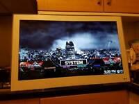 """Thomson 32"""" LED TV Full HD 1080p 2 HDMI 1 USB No Remote FreeView White"""
