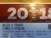 Wales v France Six Nations 1xTicket LESS THAN HALF PRICE!! £40