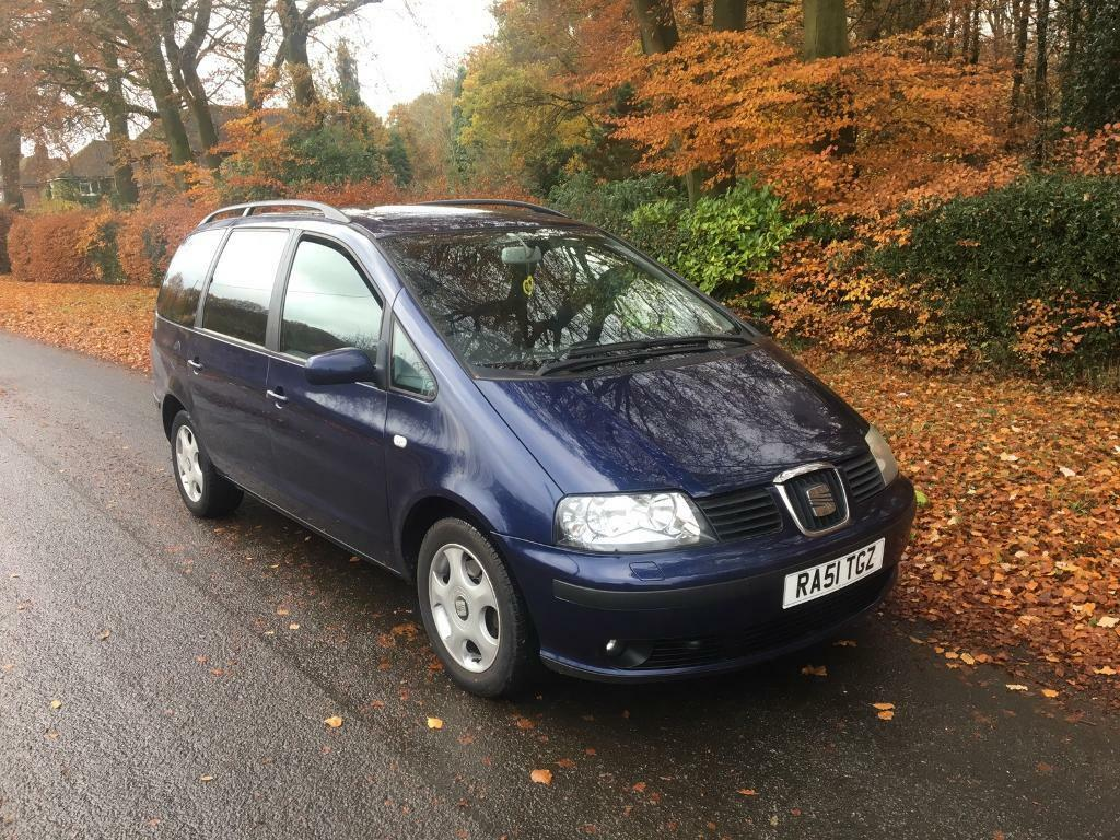Seat alhambra 1.9tdi 7 seater low miles not Ford galaxy vw