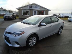 2015 Toyota Corolla LE Auto Heated Seats Backup Camera