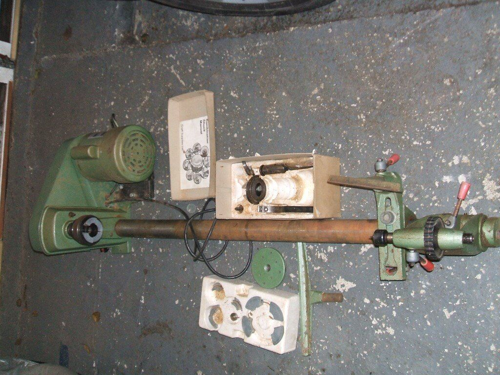 Multico 12 Quot 5 Speed Wood Turning Lathe Model No Wl37 In