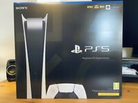 BNIB Sealed Sony PlayStation 5 PS5 Digital Edition Console - COLLECT TODAY