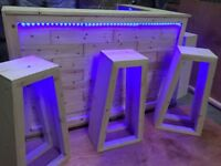 bar Best for garden , home or summer house, HQ with full led light