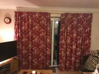 Laura Ashley thermal curtains x 2 pairs SOLD