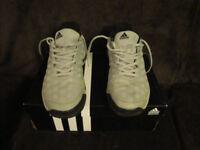 Adidas Barricade 2015 Clay Tennis shoes Mens White Black UK 9.5