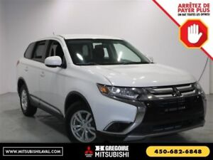 2016 Mitsubishi Outlander ES AWC Sieges-Chauf Bluetooth USB/MP3