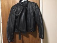Motorbike leathers Jacket.Size 40