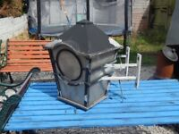 Garden lamp / Outdoor lamp / patio / decking area / cast aluminium lamp / lamppost / garden salvage
