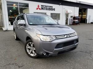 2014 Mitsubishi Outlander ES Premium 4WD; Certified Pre-owned!