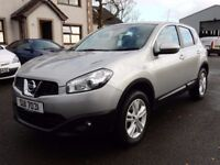 2010 Nissan qashqai 1.5 dci acenta with only 77000 miles, motd june 2018
