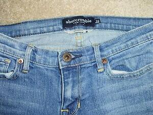 "Girl's Abercrombie Jeans ""Haley"", size 16slim London Ontario image 2"