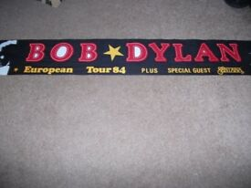 Bob Dylan 1984 Tour scarf for sale