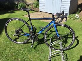 """Planet X full carbon hydraulic disc road bike, size S (suit 5'8""""-5'10"""")"""
