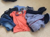 Boys bundle of clothes age 6-7 years and 7-8 years