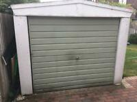 Sectional Concrete Garage.