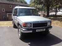 Landrover Discovery 2 TD5, Silver, Diesel, 2.5L, Off road tyres + extra's
