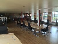 shared desk space, co working space in thriving and networking business hub in outstanding landmark