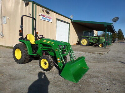 John Deere 3032e 4wd And Loader 2018 19hrs. Wwarr. Why Buy New