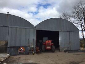 2 60 feet by 30 feet sheds