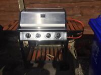 Gas BBQ 4 burner