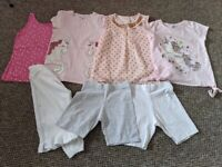 Girls T-shirts and shorts Bundle