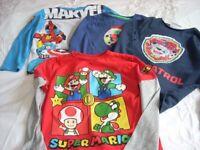 Boys Top T Shirt Bundle age 6-7 yrs
