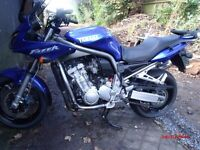yamaha fazer 1000, 2002 very low mileage 10.008 £2850 offers