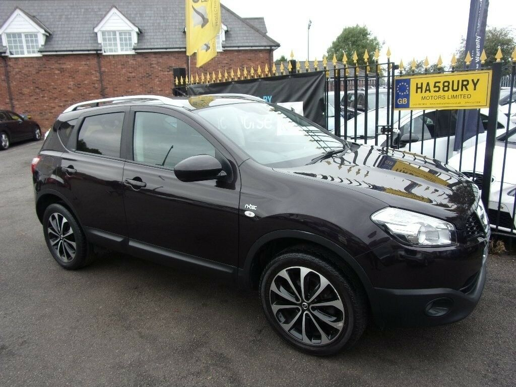 Nissan Qashqai 1 5 Dci N Tec 2wd 5dr Black 2010 In