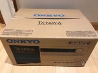 *Hardly Used* Onkyo 7.2 Channel AMP 3D 4K Upscaling Home Cinema AV Network Receiver THX Dolby D