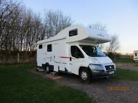 Roller team Zefiro 690g 2014 motorhome 6 berth with 15,000 miles recorded