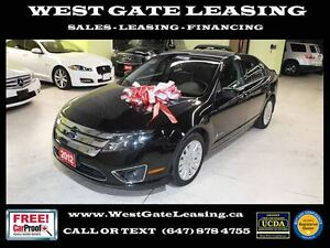 2012 Ford Fusion HYBRID | LEATHER | SUNROOF | NAVIGATION