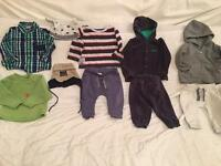 Baby boys 9-12 months clothes bundle